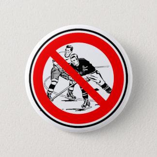 Ice hockey 6 cm round badge