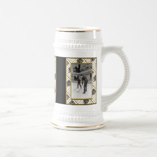 Ice Hockey Beer Stein