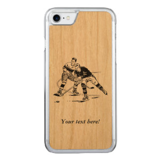 Ice hockey carved iPhone 8/7 case