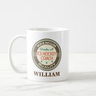 Ice Hockey Coach Personalized Office Mug Gift
