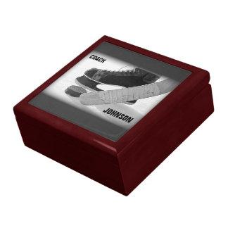 Ice Hockey Coach Thank You Gift Box