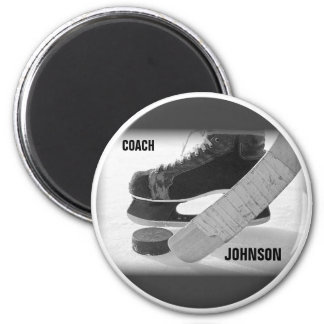 Ice Hockey Coach Thank You Magnet