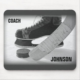 Ice Hockey Coach Thank You Mouse Pad