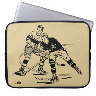 Ice hockey computer sleeves