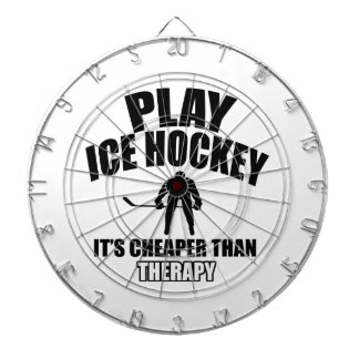 Ice hockey design dartboard