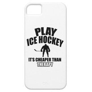 Ice hockey design iPhone 5 cover