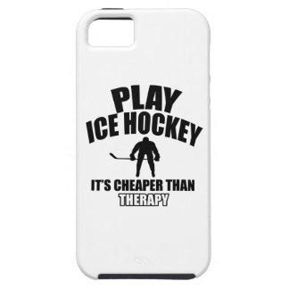 Ice hockey design tough iPhone 5 case