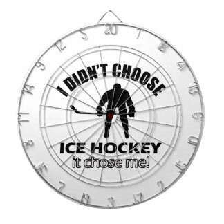 ice hockey designs dartboard