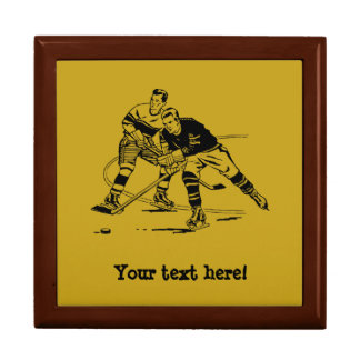 Ice hockey gift box