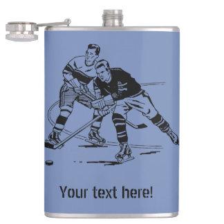 Ice hockey hip flask