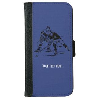 Ice hockey iPhone 6 wallet case