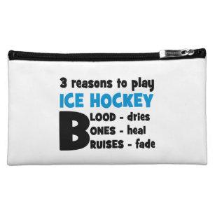 Ice Hockey Makeup Bag