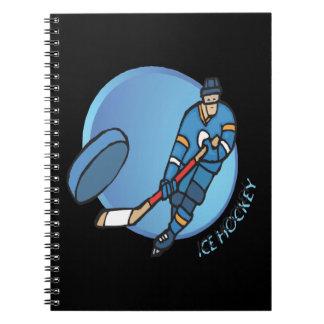 Ice Hockey Notebook