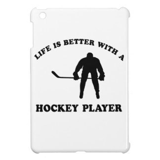 Ice Hockey Player Designs Cover For The iPad Mini
