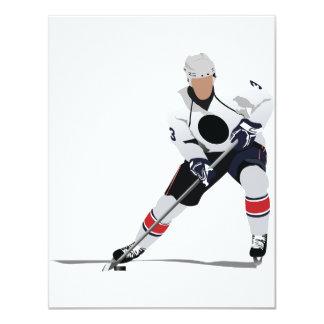 Ice Hockey Player Invitations