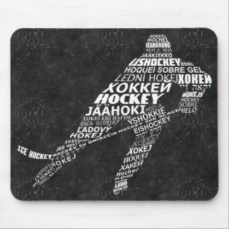 Ice Hockey Player Languages Mousemat