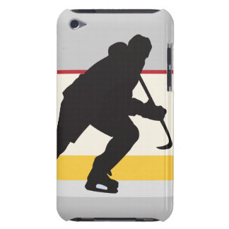 ice hockey player on the move barely there iPod covers