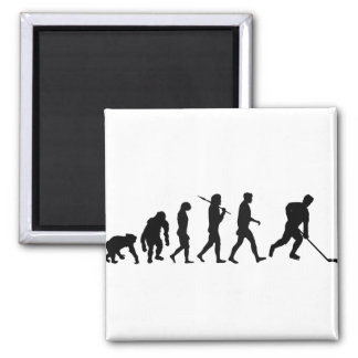 Ice Hockey Players team shirts Square Magnet