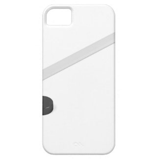 Ice hockey stick and puck barely there iPhone 5 case