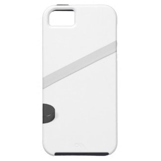 Ice hockey stick and puck case for the iPhone 5