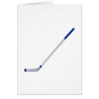 Ice hockey stick card