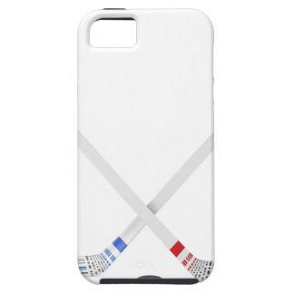 Ice hockey sticks and puck case for the iPhone 5