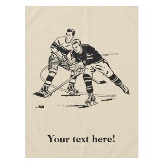 Ice hockey tablecloth