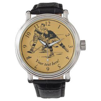 Ice hockey watch