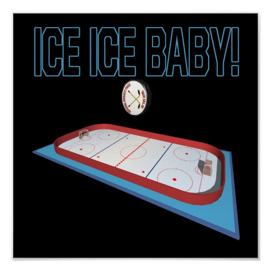 Ice Ice Baby Poster