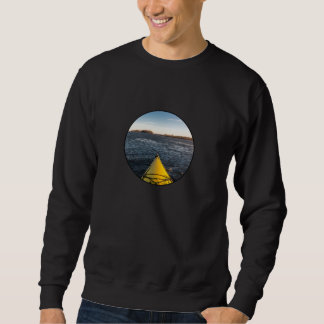 Ice kayaking sweatshirt