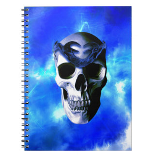 Ice King Spiral Notebook
