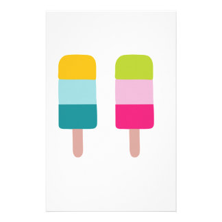 Ice lolly dream stationery