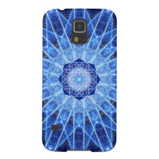 Ice Lotus Mandala Galaxy S5 Cases