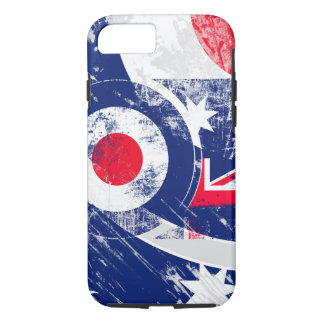Ice Mod Roundel Grunge Australia iPhone 7 Case