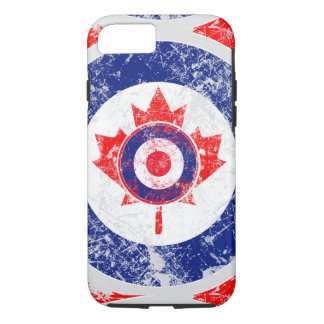 Ice Mod Roundel Grunge Maple Leaf iPhone 7 Case