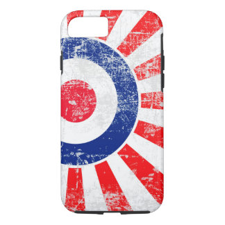Ice Mod Roundel Grunge Rising Sun iPhone 7 Case