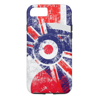 Ice Mod Roundel Grunge Union Jack iPhone 7 Case
