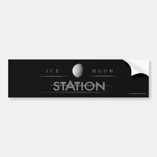 Ice Moon Station Bumper Sticker