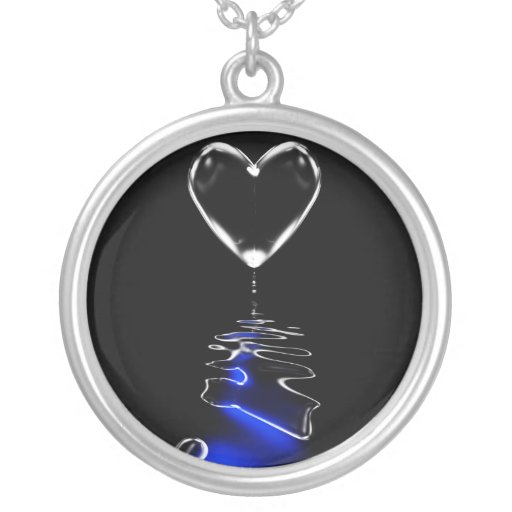 Ice of Hearts Personalized Necklace