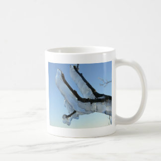 Ice On A Branch Coffee Mug