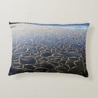 Ice on the beach decorative cushion