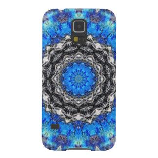Ice Petals Mandala Galaxy S5 Case