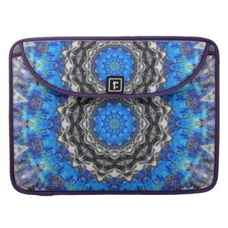 Ice Petals Mandala Sleeve For MacBooks