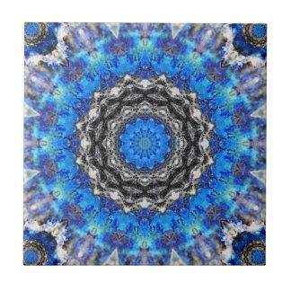 Ice Petals Mandala Tile
