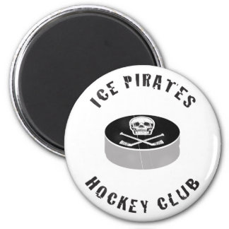 Ice Pirates Hockey Club Magnet
