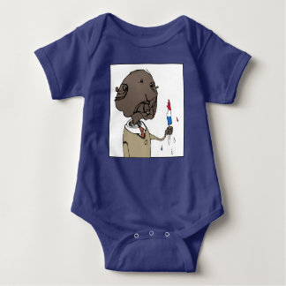 Ice Pop Gopher Baby Bodysuit