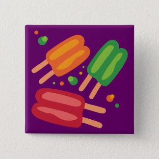 Ice Pops 15 Cm Square Badge
