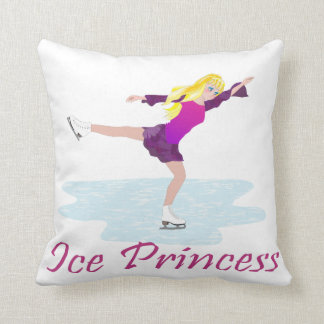 Ice Princess Figure Skater Cushion