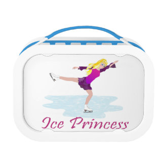 Ice Princess Figure Skater Lunch Box