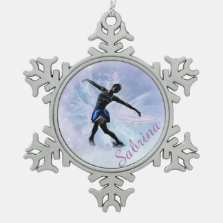 Ice Princess Snowflake Ornament